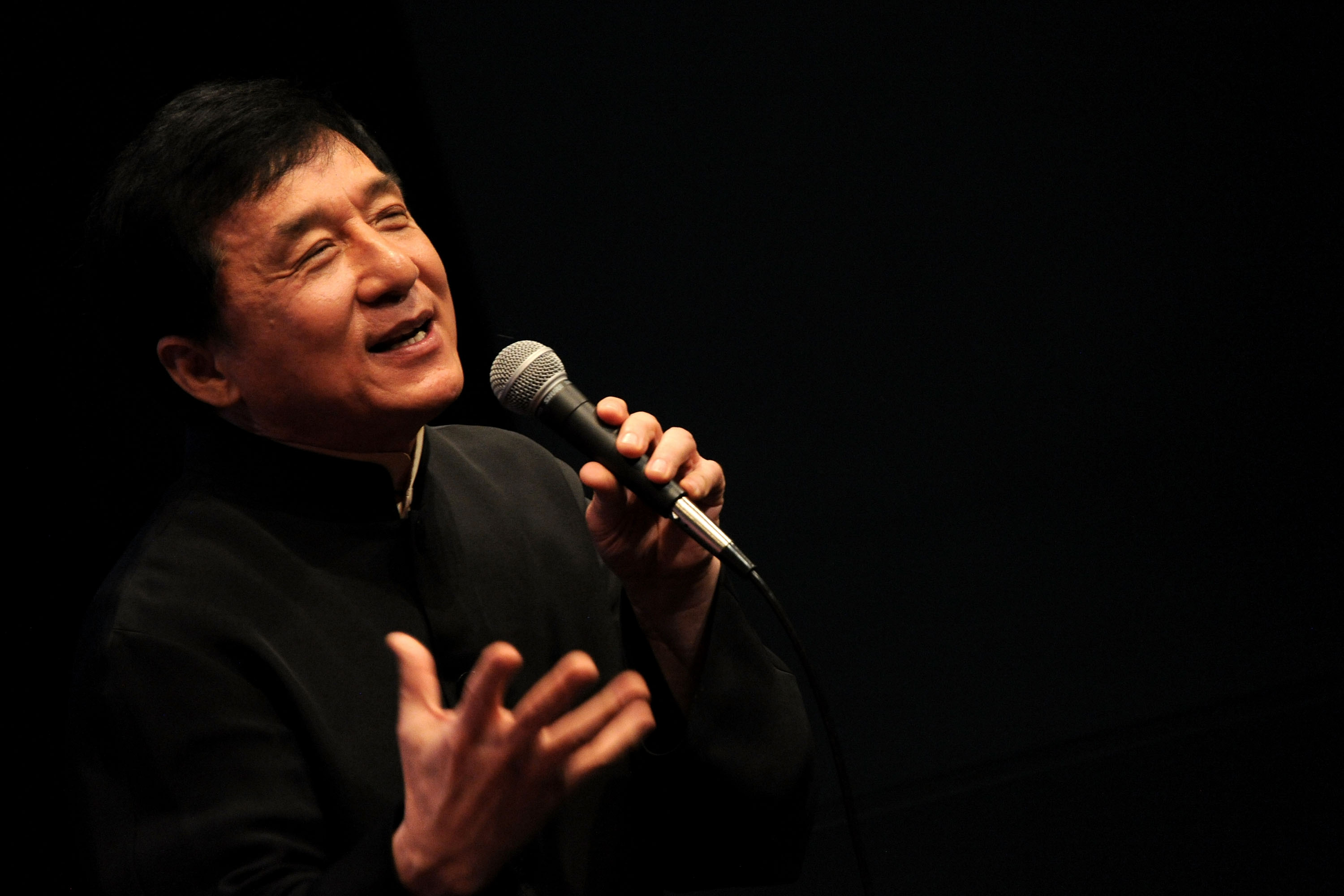 Chan Kongsang SBS MBE PMW 陳 港 生 born 7 April 1954 known professionally as Jackie Chan is a Hong Kong martial artist actor film director producer